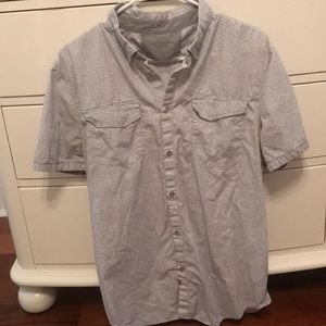 Calvin Klein button up T-shirt